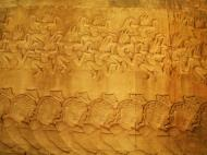 Asisbiz Churning of the sea of milk asuras tug of war with apsaras above 05