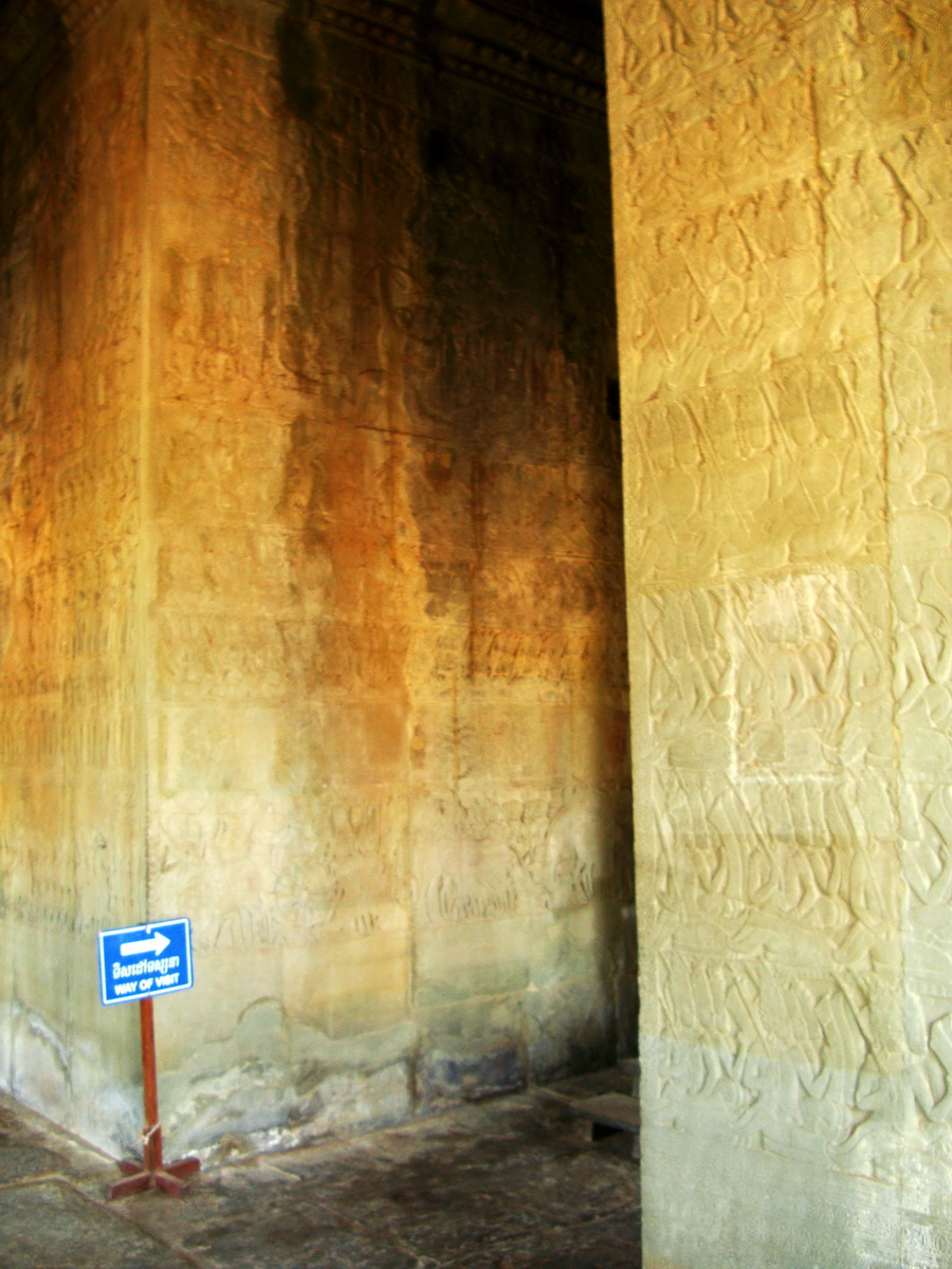 Angkor Wat Bas relief N Gallery W Wing Battle of Devas and Asuras 13
