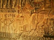 Asisbiz Angkor Wat Bas relief S Gallery E Wing Heavens and Hells 03