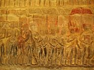 Asisbiz Angkor Wat Bas relief S Gallery E Wing Heavens and Hells 18