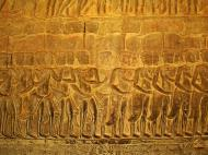Asisbiz Angkor Wat Bas relief S Gallery E Wing Heavens and Hells 22