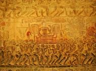 Asisbiz Angkor Wat Bas relief S Gallery E Wing Heavens and Hells 30