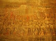 Asisbiz Angkor Wat Bas relief S Gallery E Wing Heavens and Hells 41