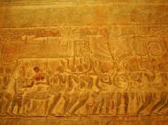 Asisbiz Angkor Wat Bas relief S Gallery E Wing Heavens and Hells 44