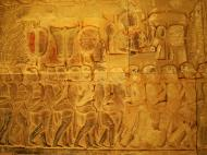 Asisbiz Angkor Wat Bas relief S Gallery E Wing Heavens and Hells 55