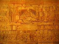 Asisbiz Angkor Wat Bas relief S Gallery E Wing Heavens and Hells 56