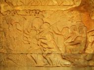 Asisbiz Angkor Wat Bas relief S Gallery E Wing Heavens and Hells 75