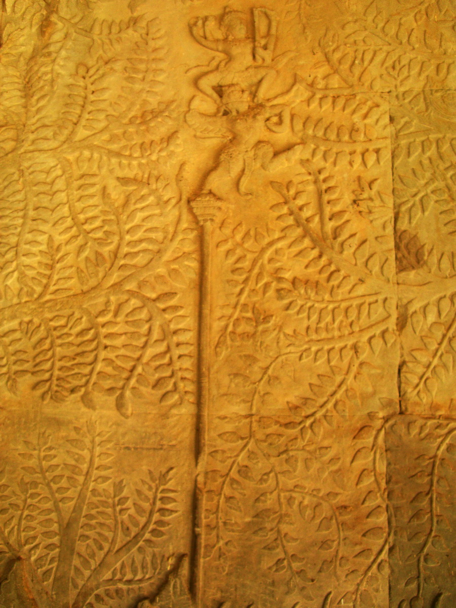 Angkor Wat Bas relief S Gallery W Wing Historic Procession 060