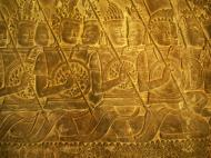 Asisbiz Angkor Wat Bas relief S Gallery W Wing Historic Procession 008