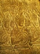 Asisbiz Angkor Wat Bas relief S Gallery W Wing Historic Procession 009