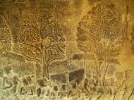 Asisbiz Angkor Wat Bas relief S Gallery W Wing Historic Procession 013