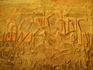 Asisbiz Angkor Wat Bas relief S Gallery W Wing Historic Procession 014