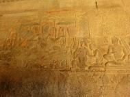 Asisbiz Angkor Wat Bas relief S Gallery W Wing Historic Procession 016