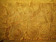 Asisbiz Angkor Wat Bas relief S Gallery W Wing Historic Procession 017