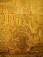 Asisbiz Angkor Wat Bas relief S Gallery W Wing Historic Procession 020