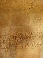 Asisbiz Angkor Wat Bas relief S Gallery W Wing Historic Procession 023
