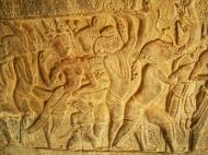 Asisbiz Angkor Wat Bas relief S Gallery W Wing Historic Procession 024