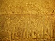 Asisbiz Angkor Wat Bas relief S Gallery W Wing Historic Procession 025