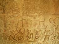 Asisbiz Angkor Wat Bas relief S Gallery W Wing Historic Procession 026