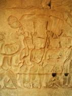 Asisbiz Angkor Wat Bas relief S Gallery W Wing Historic Procession 028