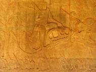 Asisbiz Angkor Wat Bas relief S Gallery W Wing Historic Procession 032