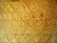 Asisbiz Angkor Wat Bas relief S Gallery W Wing Historic Procession 037