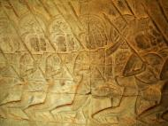 Asisbiz Angkor Wat Bas relief S Gallery W Wing Historic Procession 038