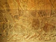 Asisbiz Angkor Wat Bas relief S Gallery W Wing Historic Procession 041