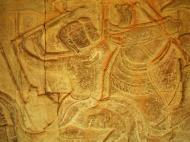 Asisbiz Angkor Wat Bas relief S Gallery W Wing Historic Procession 047
