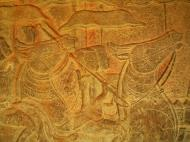 Asisbiz Angkor Wat Bas relief S Gallery W Wing Historic Procession 049