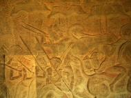 Asisbiz Angkor Wat Bas relief S Gallery W Wing Historic Procession 054