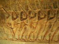 Asisbiz Angkor Wat Bas relief S Gallery W Wing Historic Procession 056