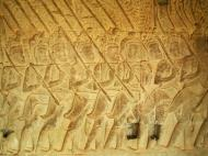 Asisbiz Angkor Wat Bas relief S Gallery W Wing Historic Procession 057