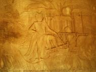 Asisbiz Angkor Wat Bas relief S Gallery W Wing Historic Procession 059