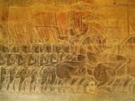 Asisbiz Angkor Wat Bas relief S Gallery W Wing Historic Procession 067