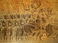 Asisbiz Angkor Wat Bas relief S Gallery W Wing Historic Procession 068