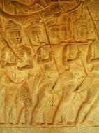 Asisbiz Angkor Wat Bas relief S Gallery W Wing Historic Procession 071