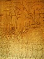 Asisbiz Angkor Wat Bas relief S Gallery W Wing Historic Procession 073