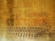 Asisbiz Angkor Wat Bas relief S Gallery W Wing Historic Procession 083