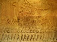 Asisbiz Angkor Wat Bas relief S Gallery W Wing Historic Procession 084