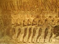 Asisbiz Angkor Wat Bas relief S Gallery W Wing Historic Procession 086