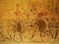 Asisbiz Angkor Wat Bas relief S Gallery W Wing Historic Procession 090