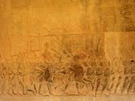 Asisbiz Angkor Wat Bas relief S Gallery W Wing Historic Procession 091