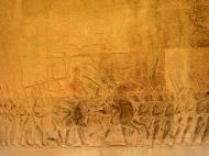Asisbiz Angkor Wat Bas relief S Gallery W Wing Historic Procession 092