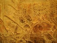 Asisbiz Angkor Wat Bas relief S Gallery W Wing Historic Procession 094