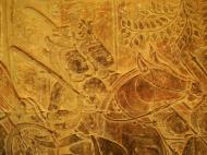 Asisbiz Angkor Wat Bas relief S Gallery W Wing Historic Procession 095