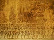 Asisbiz Angkor Wat Bas relief S Gallery W Wing Historic Procession 099
