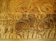 Asisbiz Angkor Wat Bas relief S Gallery W Wing Historic Procession 102