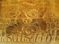 Asisbiz Angkor Wat Bas relief S Gallery W Wing Historic Procession 103