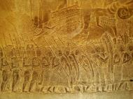 Asisbiz Angkor Wat Bas relief S Gallery W Wing Historic Procession 107